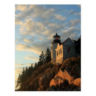 Acadia National Park Bass Harbor Lighthouse Postcard
