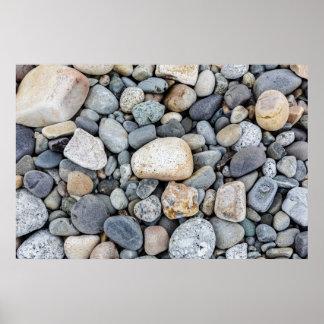 Acadia National Park Beach Rocks Poster