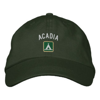 Acadia National Park Embroidered Baseball Hat