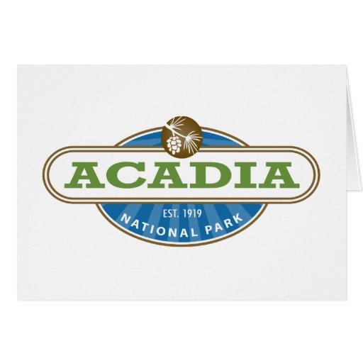 Acadia National Park Greeting Card