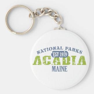 Acadia National Park Keychain
