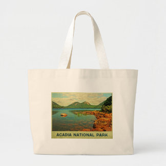 Acadia National Park Large Tote Bag