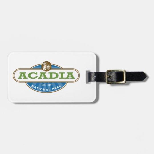 Acadia National Park Luggage Tag