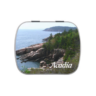 Acadia National Park, Maine Jelly Belly Candy Tin