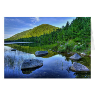 Acadia National Park - Maine Note Card