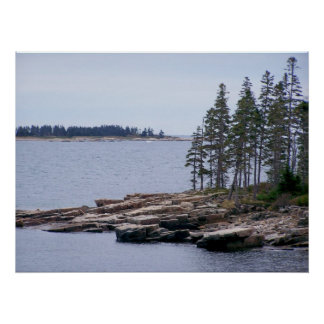 Acadia National Park Maine Poster