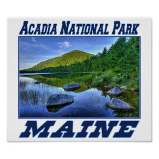 Acadia National Park - Maine Poster