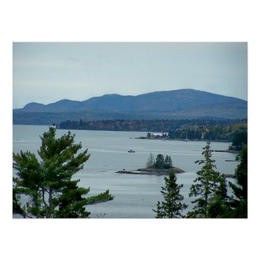 Acadia National Park Maine Posters