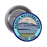 Acadia National Park Maine, USA 2 Inch Round Button