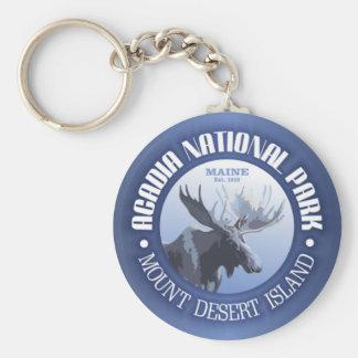 Acadia National Park (moose) Keychain