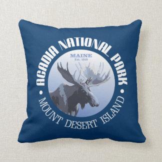 Acadia National Park (moose) Throw Pillow