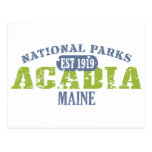 Acadia National Park Postcard