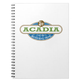 Acadia National Park Spiral Note Book