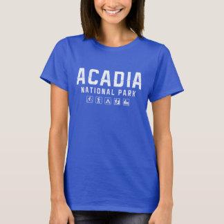 Acadia National Park women's tshirt