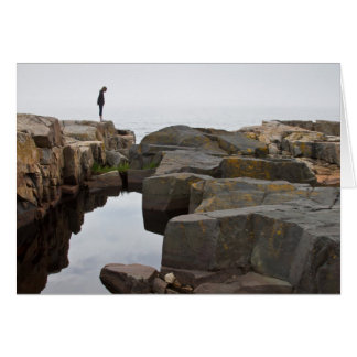 Acadia NP: on the tip of the Schoodic Peninsula Card