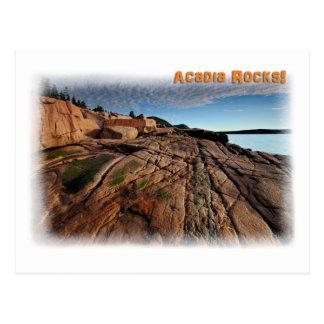Acadia Rocks! Postcard