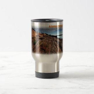 Acadia Rocks! Travel Mug