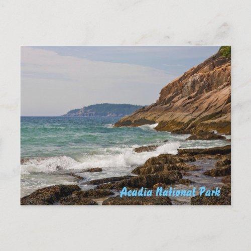 Acadia Shore Postcard postcard