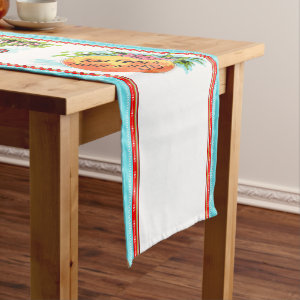 Acadia Sirop de Batterie Short Table Runner