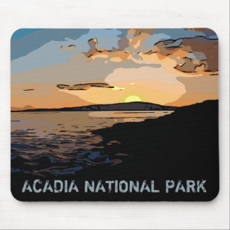 ACADIA SUNSET MOUSE PAD