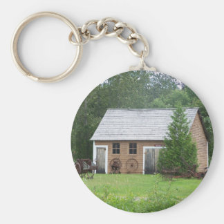 Acadian Building Keychain