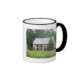 Acadian Building Coffee Mugs
