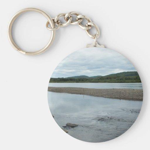 Acadian Landing Key Chain