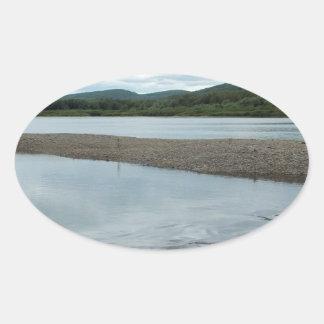 Acadian Landing Oval Sticker
