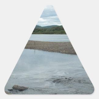 Acadian Landing Triangle Sticker