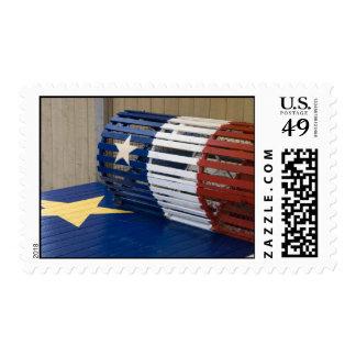 Acadian Lobster Trap Postage Stamp