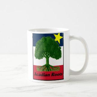 Acadian Roots w text Mug
