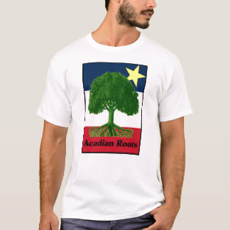 Acadian Roots w text T-Shirt