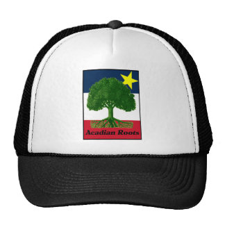 Acadian Roots w text Trucker Hat