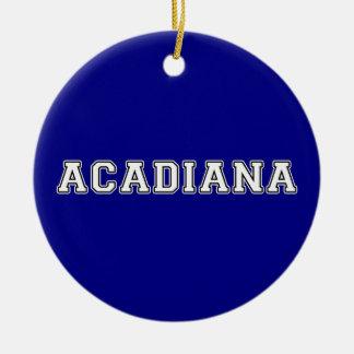Acadiana Ceramic Ornament