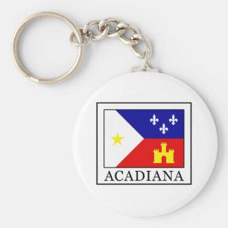 Acadiana Keychain