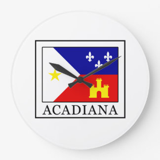 Acadiana Large Clock