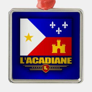 Acadiana Pride Metal Ornament