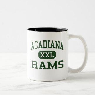 Acadiana   Rams   High   Lafayette Louisiana Two Tone Coffee Mug