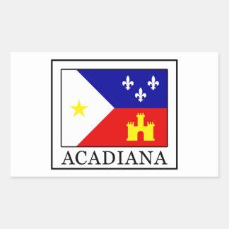 Acadiana Rectangular Sticker