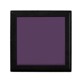 Acai Violet Solid Color - Fashion Color Trends Keepsake Boxes