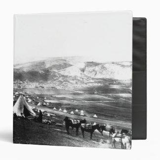 "Acampamento aliado, Crimea, c.1855 Carpeta 1 1/2"""
