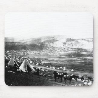 Acampamento aliado, Crimea, c.1855 Alfombrilla De Ratones
