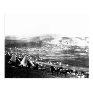 Acampamento aliado, Crimea, c.1855 Postal