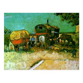 Acampamento de la bella arte de Van Gogh de los Tarjetas Postales