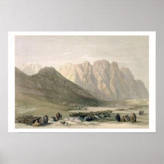 Acampamento del Aulad-Dicho, monte Sinaí, Februar Posters