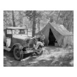 Acampando en el Yakima Valley, 1936 Impresiones