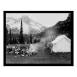 Acampando en indio Henry, el Monte Rainier, WA 192 Impresiones