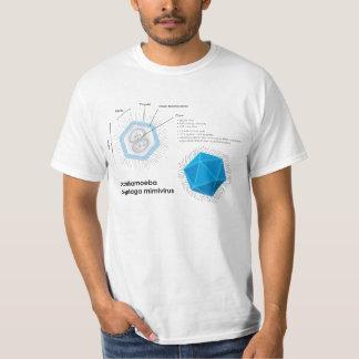 Acanthamoeba polyphaga mimivirus APMV Diagram T-Shirt