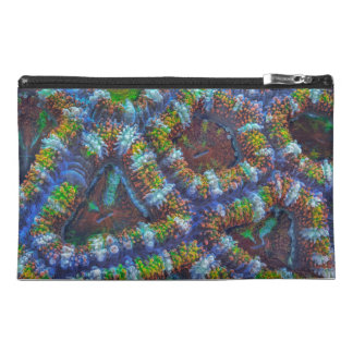 Acanthastrea pattern travel accessory bag