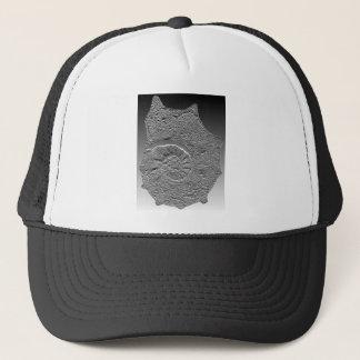 Acanthoceras amphibolum- ammonite-bas relief trucker hat
